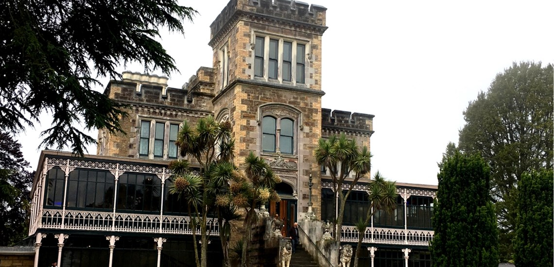 Larnach Castle, Dunedin New Zealand