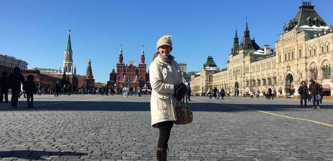 Solo Travel in Russia, visiting Moscow