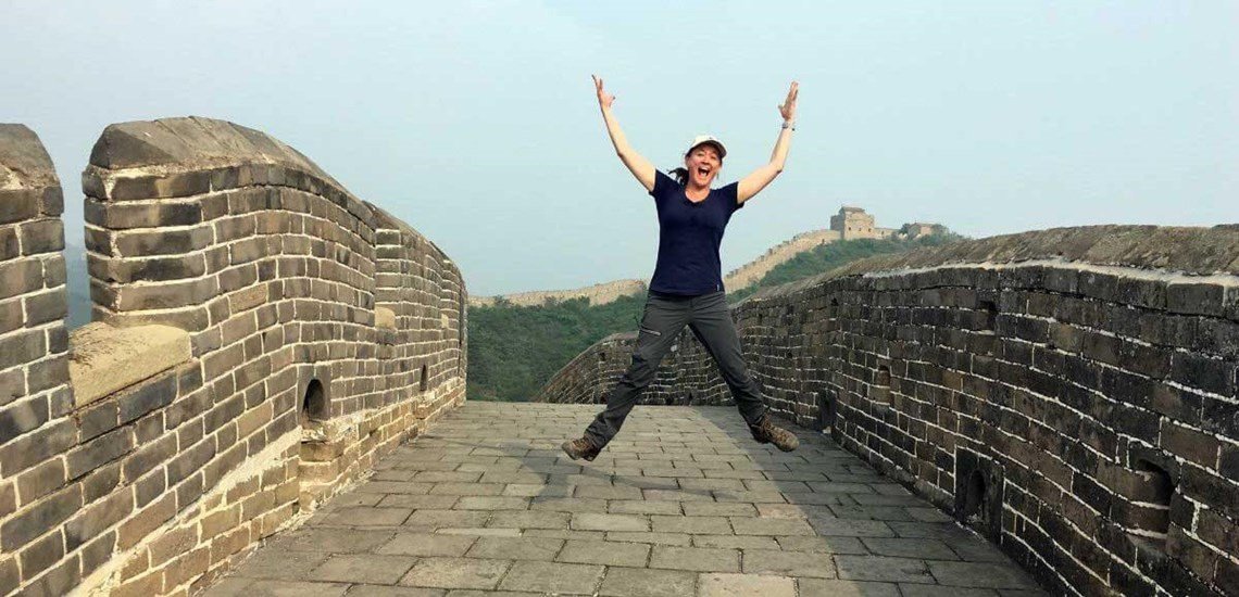 on our 5 day Great Wall trek