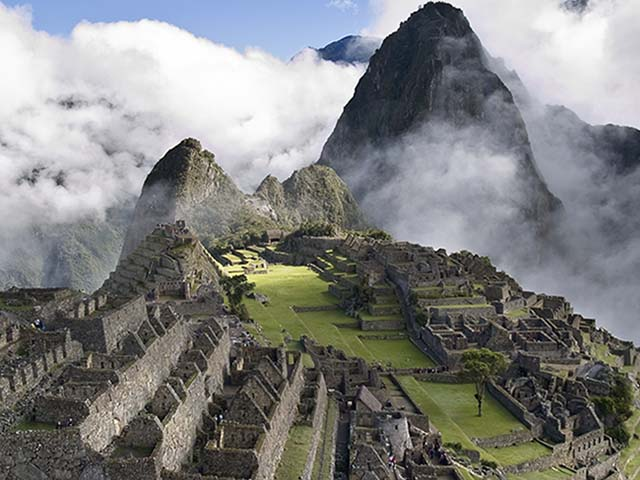 Discover Peru with Amazon option