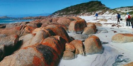 Bay of Fires Solo Travel Tour