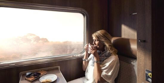 Single Sleeper, Gold Service, The Ghan (day time)