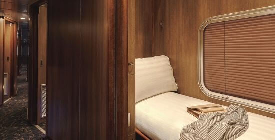 Gold SIngle Sleeper, The Ghan