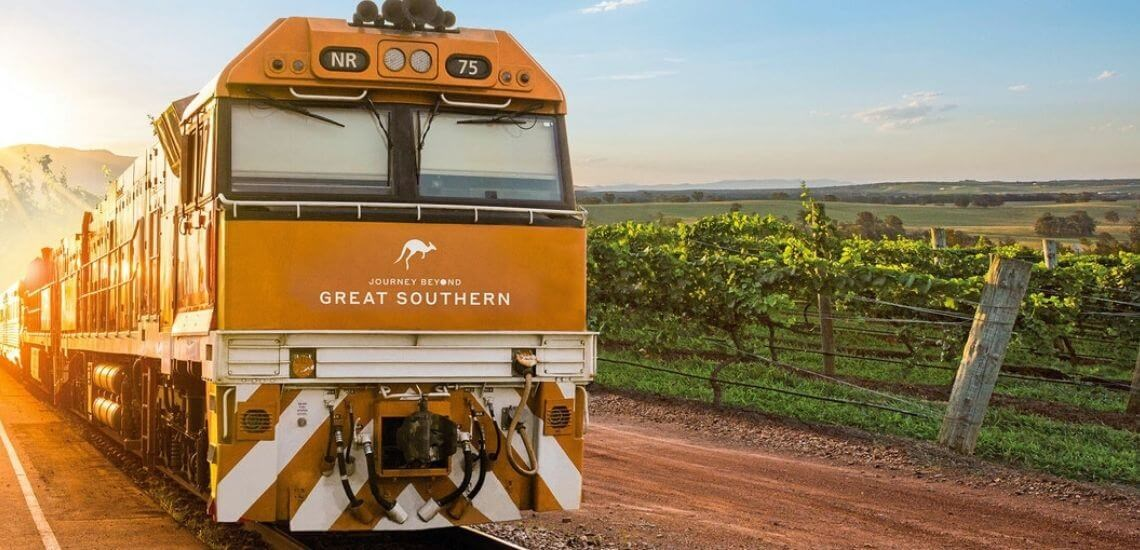 9 of the Best Train Trips in Australia